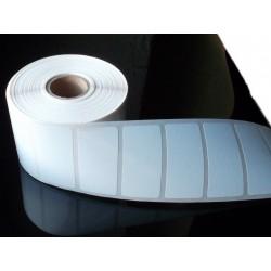 Étiquettes decollables polypropylène blanc