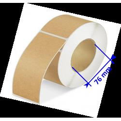 Etiquettes papier Kraft brun