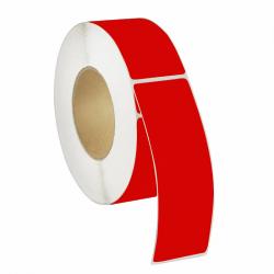 Etiquettes vinyle Rouge