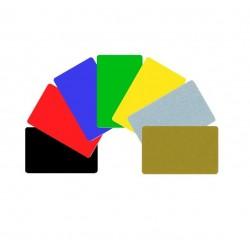 Cartes CR-80 couleur