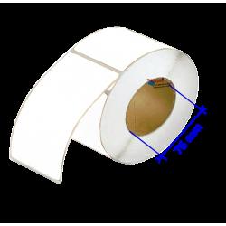 Etiquettes vinyle Blanc Mat