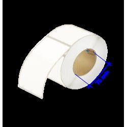 étiquette laser et jet d'encre papier structuré blanc